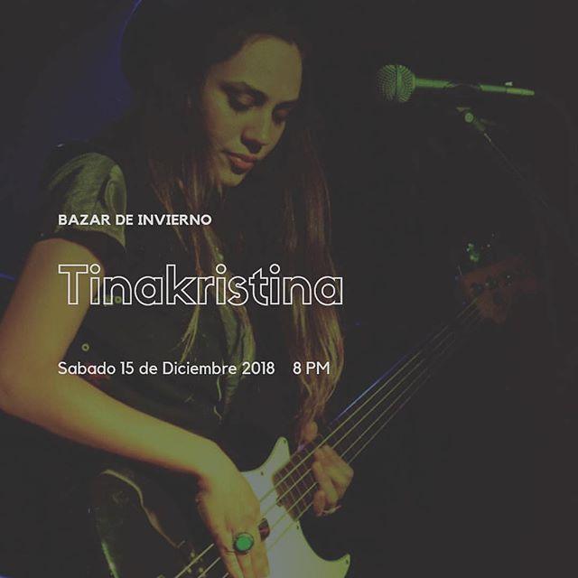 I'll be performing my solo set this coming Saturday December 15th at 8pm. Coyoacán, Mexico. At Lucid Dreams @lucidreamstudio —- @tinakristina23 en el bazar de Invierno ❄️ Montserrat 54 la candelaria Coyoacan