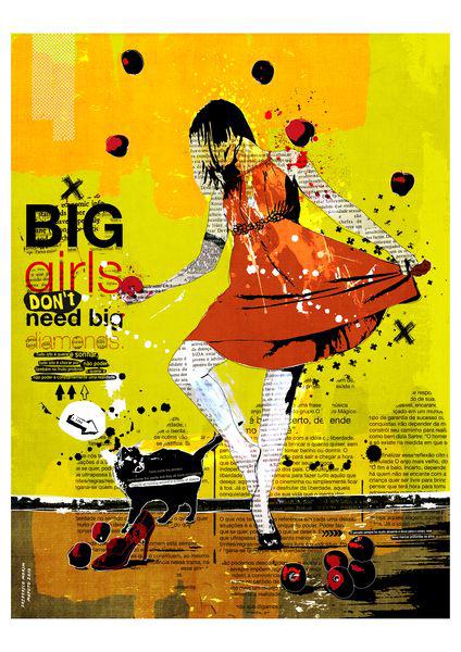 """Big"" 135x180cm Digitale Kunst 2010 4,500.-"