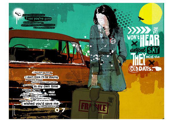 """Carro II"" 120x90cm Digitale Kunst 2010 2,500.-"