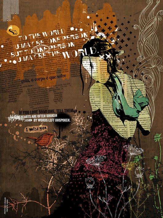 """""""Flor"""" 180x135cm Digitale Kunst 2008 4,500.-"""