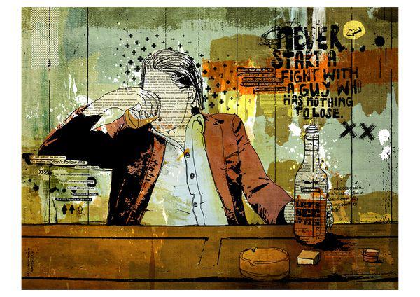 """Freds"" 120x90cm Digitale Kunst 2010 2,500.-"