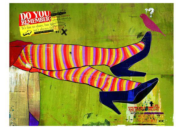 """Pernan Cruzadas"" 120x90cm Digitale Kunst 2008 2,500.-"