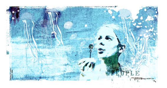 """Sopro"" 180x135cm Digitale Kunst 2008 4,500.-"