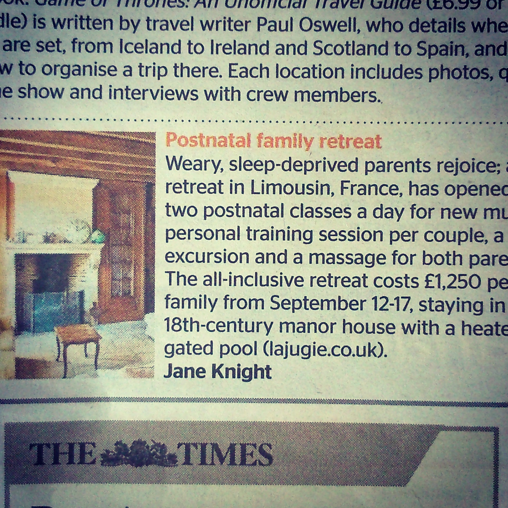 The Times, July 2015