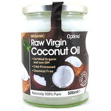 Virgin Coconut Oil (use at night)