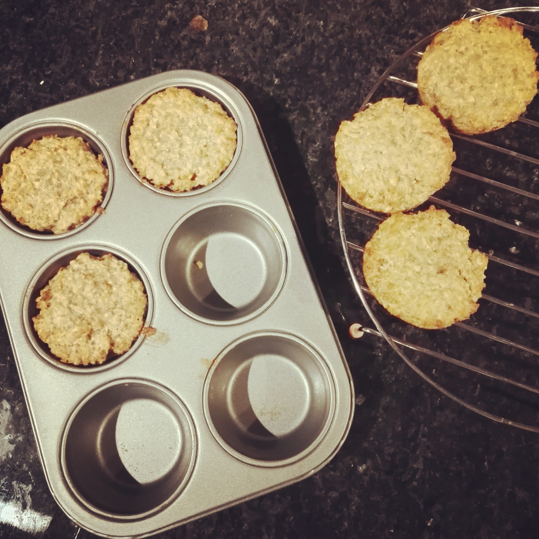 Porridge muffins...yum