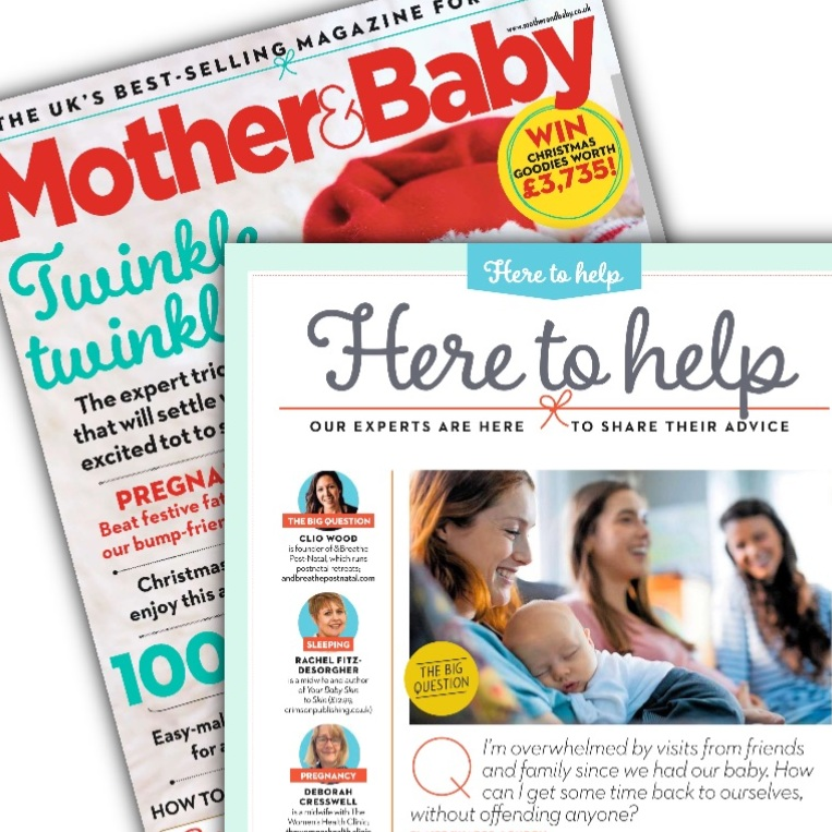 Mother & Baby magazine,  December 2018
