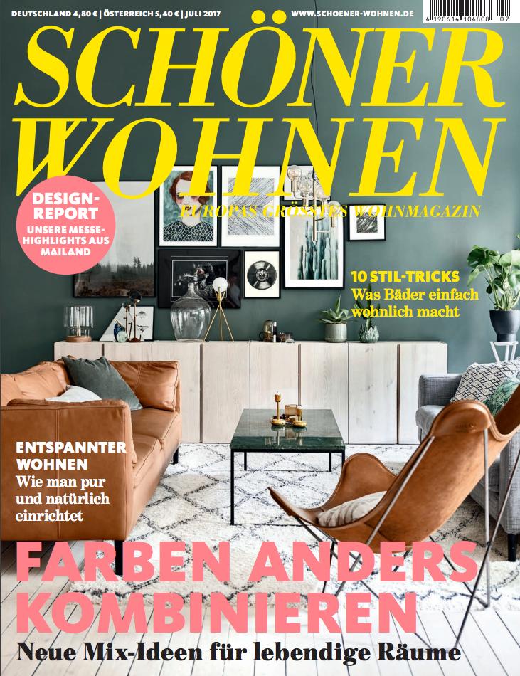 Schöner Wohnen NR 7, 2017 (KLICKA PÅ BILDEN FÖR ATT LÄSA)