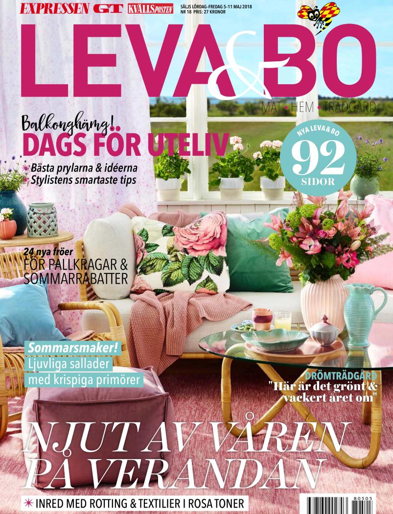 Leva & Bo, 5-11 MAJ 2018