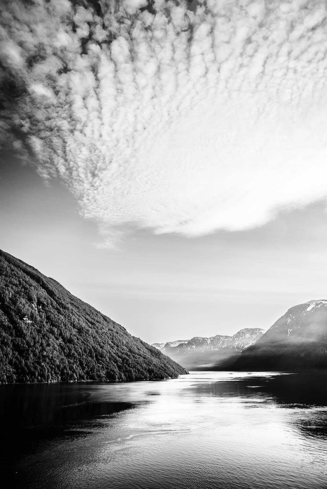 Morning Haze In Norway