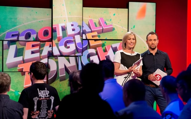 SELEN HURER-MAKEUP-GROOMING-Kelly Cates and George Riley Football League Tonight Channel 5.jpg