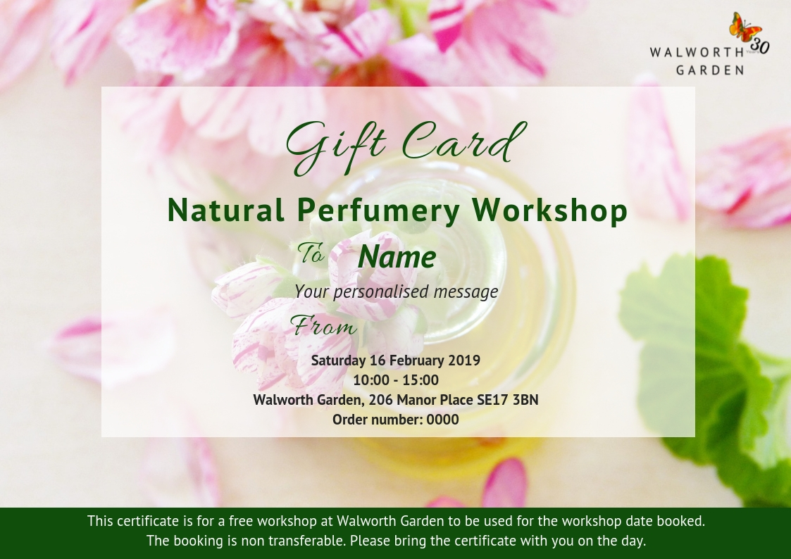 Book as a gift and receive a personalised gift card