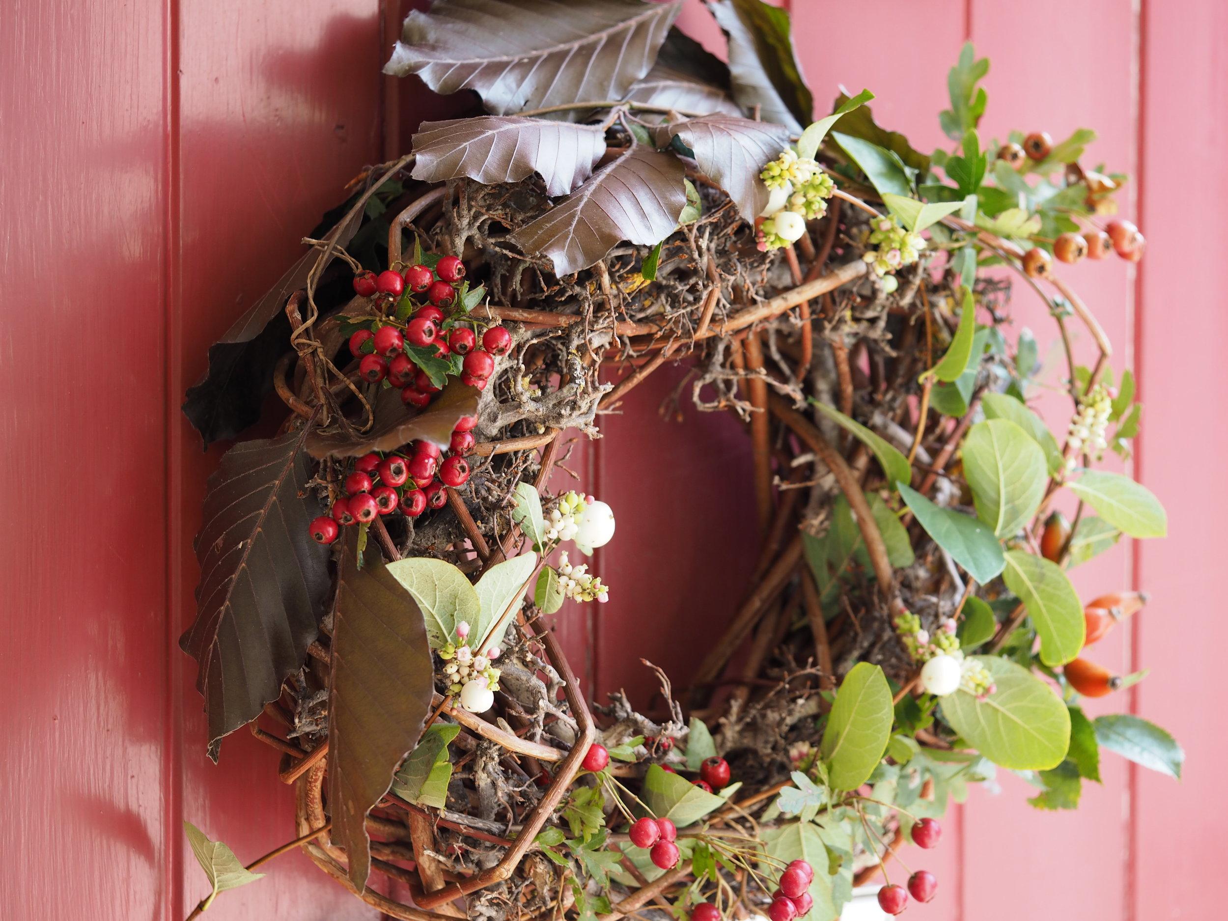 The Stitchery Studio Autumn Wreath