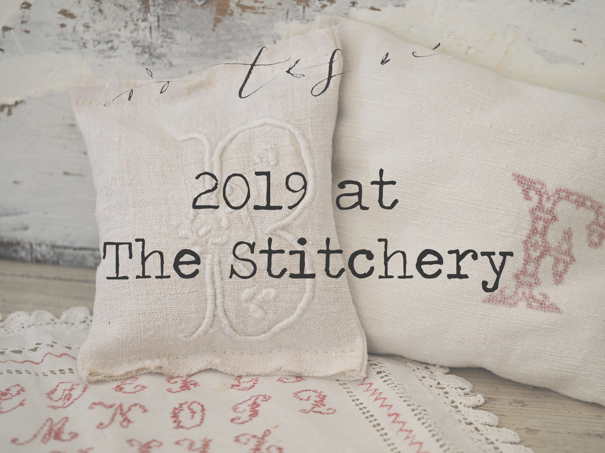 2019 Embroidery Subscription: The Stitchery Sampler
