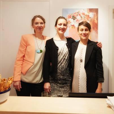 Caro Weiss, Anna Auras, Christiane Köhne