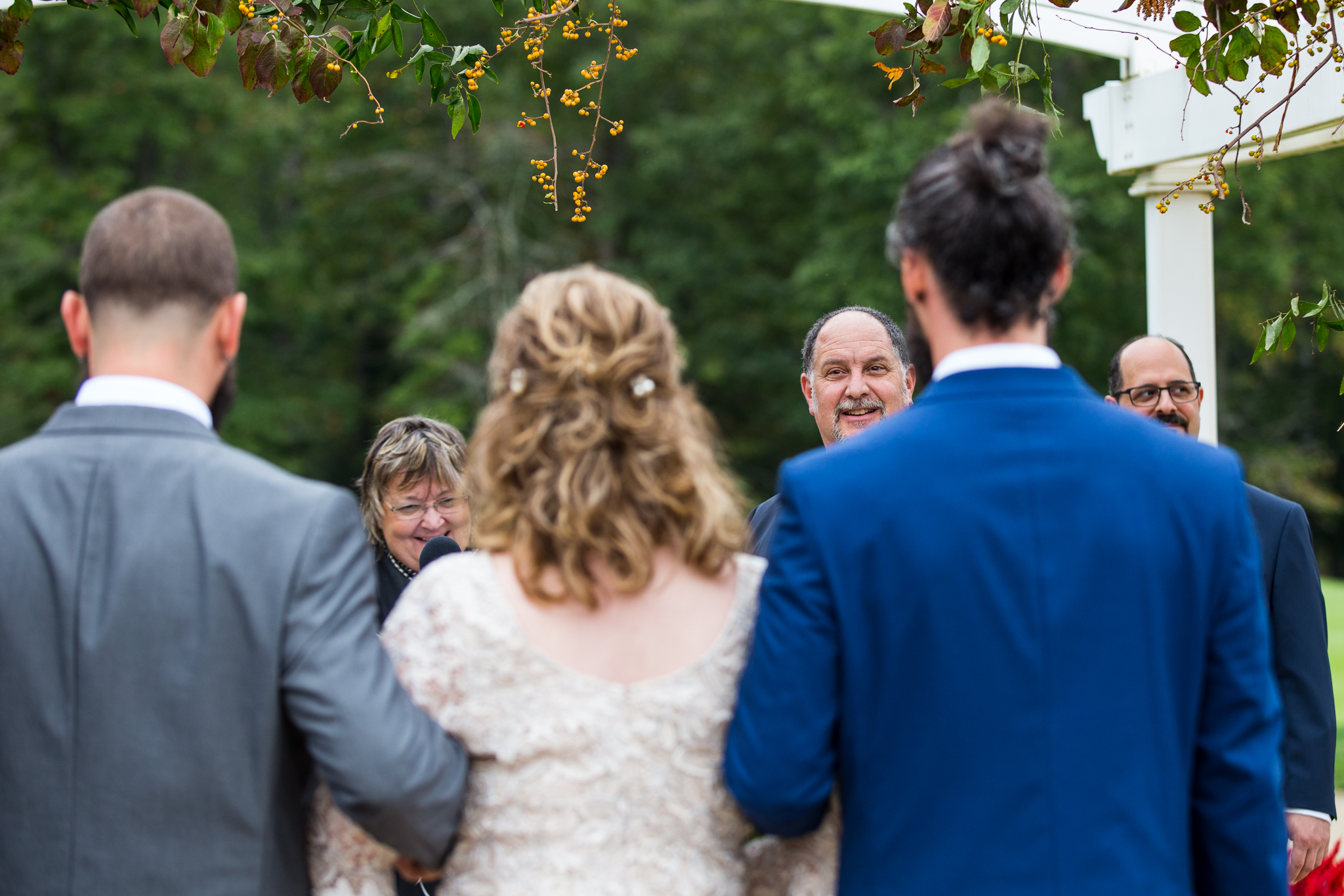 Danielle Salerno Photography Running Deer Fall Outdoor Wedding