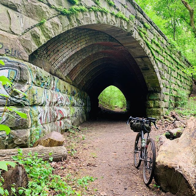Morning bike ride in the city.  #belmontplateau #fairmountpark #gravelride