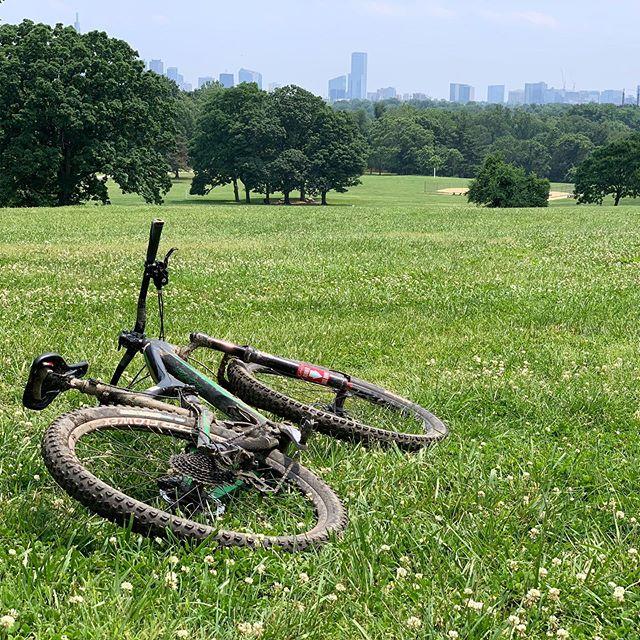 Lazy Sunday in Philly. #belmontplateau #sundayfunday #breaktime