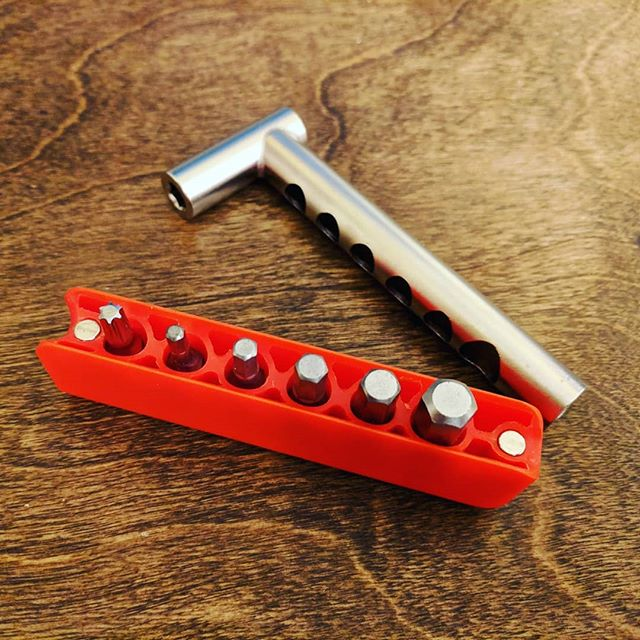 Mini Bar multitool for all your bit driving needs. www.mineralbikes.com