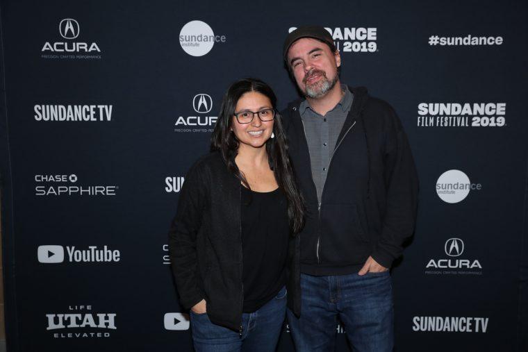Christina Ibarra and Alex Rivera