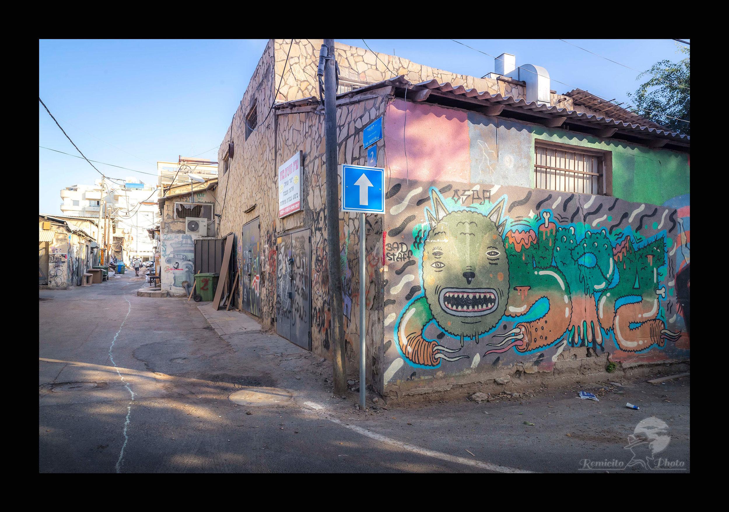 remicito photo, image du jour, photo du jour, voyage Israël, trip Israel, photo voyage Tel Aviv, Street Art, Graffiti, Graffiti Israel