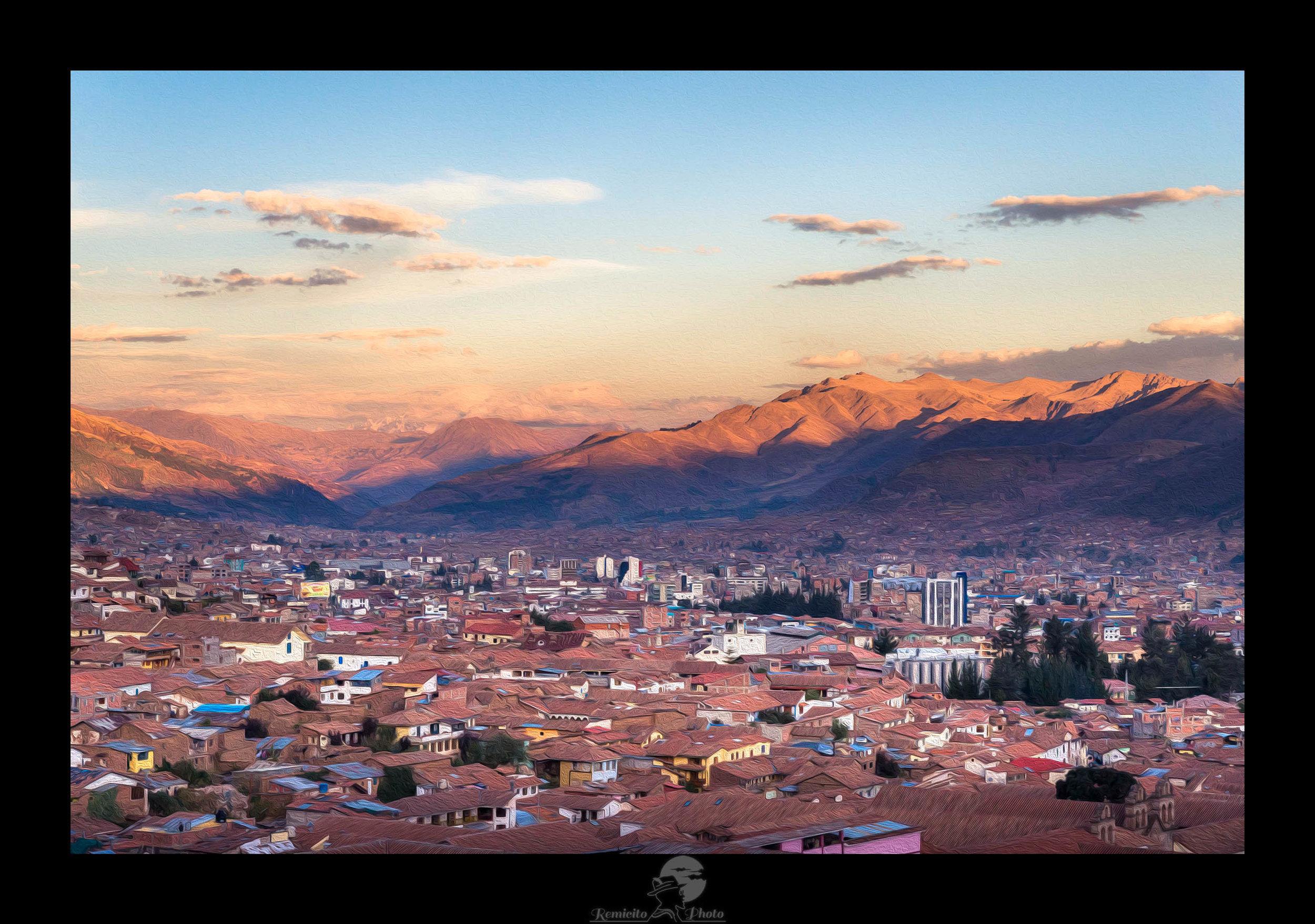remicito photo, image du jour, photo du jour, photo of the day, cuzco, photo Pérou, photo Cuzco Pérou, Cuzco Peru, photo coucher de soleil, sunset photography, photo voyage peru, photographe français, french photographer, paintography