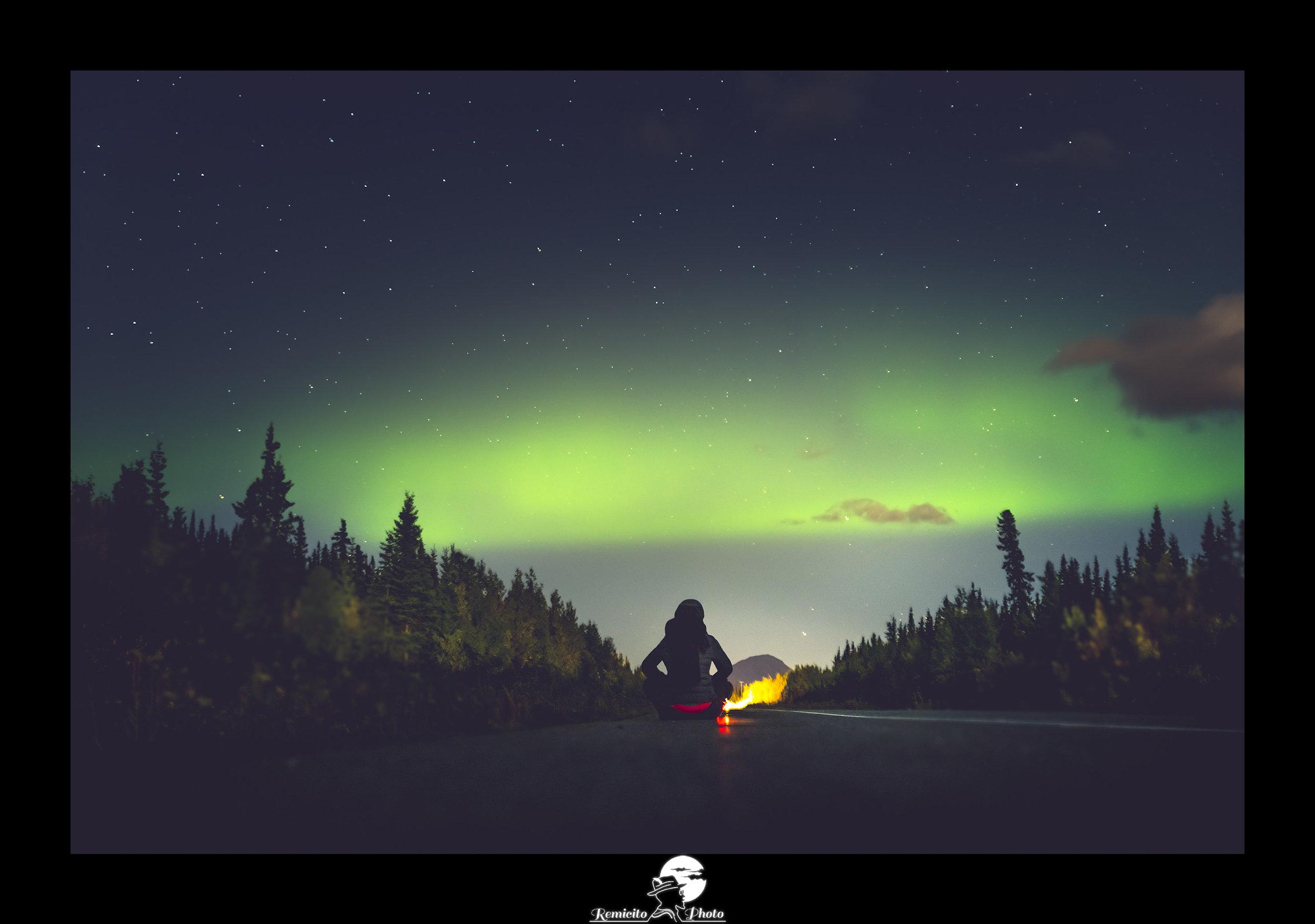 remicito photo, image du jour, photo du jour, photo of the day, aurores boréales alaska, alaska northern lights, denali national park alaska, idée cadeau, belle photo aurores boréales