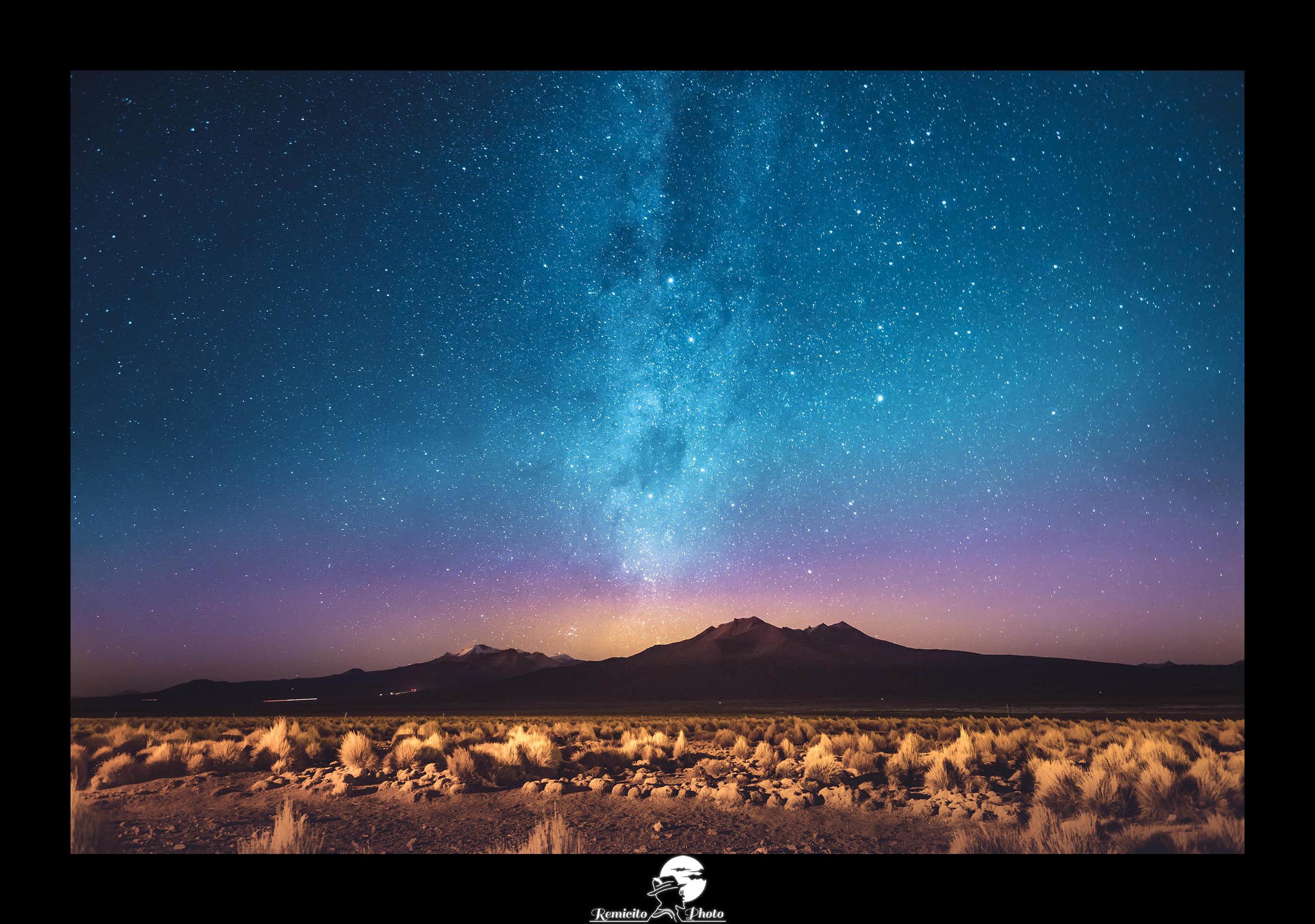 remicito photo, remicito, image du jour, photo du jour, photo of the day, night sky bolivia, photo voie lactée amérique du sud, idée cadeau, idée déco, belle photo