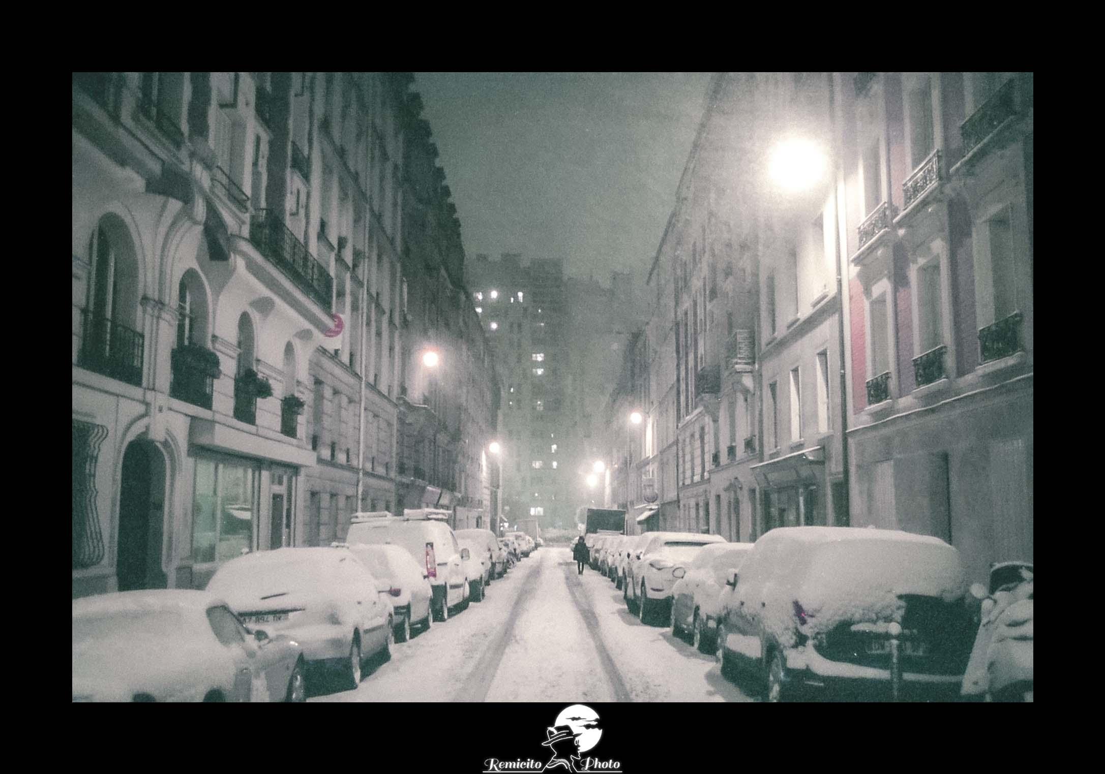 remicito photo, remicito, image du jour, photo du jour, photo of the day, tempête de neige paris, photo argentique paris neige, analog photography paris france, belle photo argentique idée cadeau, tirage photo neige paris