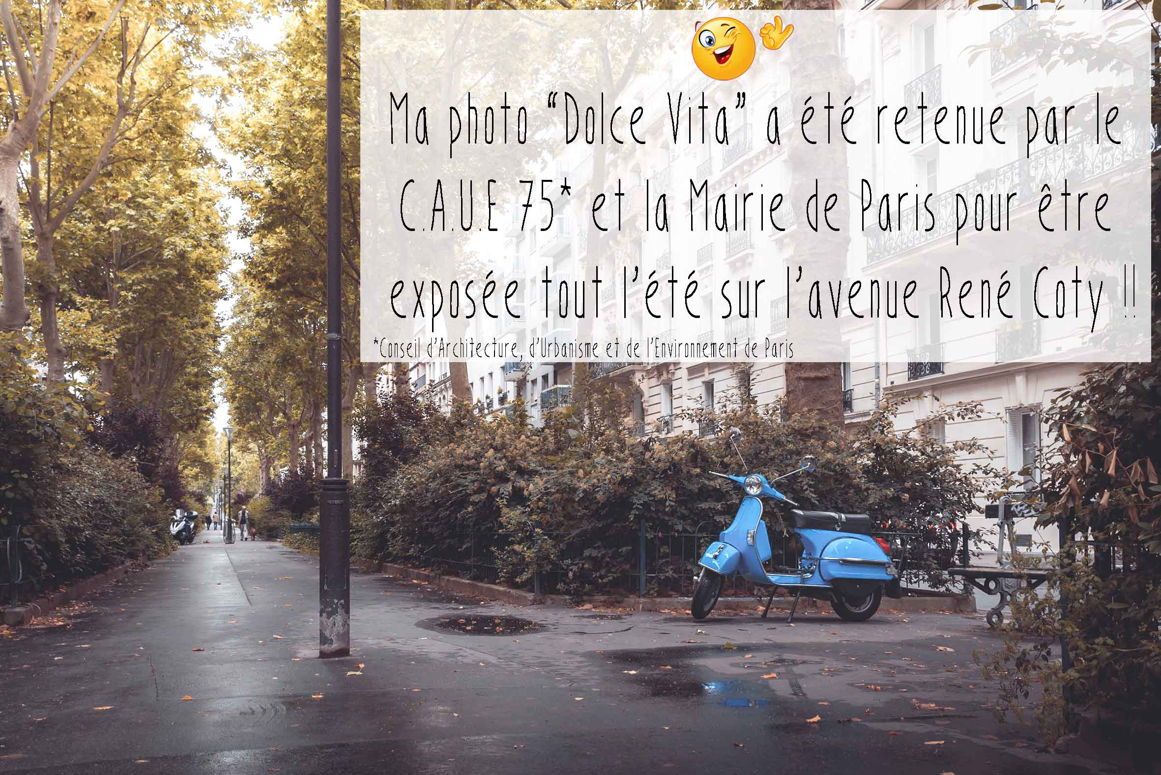Image du jour, photo du jour, Remicito photo, Remicito, CAUE PARIS, Mairie de Paris exposition, Avenue René Coty Paris, belle photo Paris 14