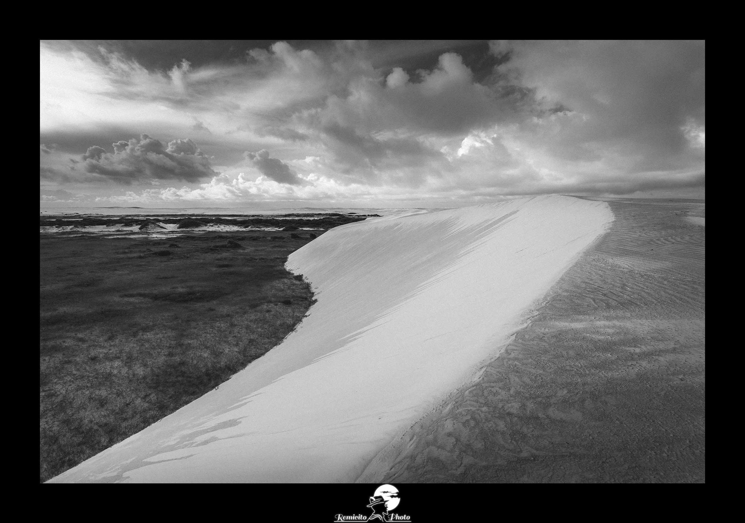 Remicito photo, remicito, rémi lacombe remicito photographe de voyage, belle photo remicito désert brésil, belle photo noir et blanc désert sable blanc brésil, idée cadeau belle photo