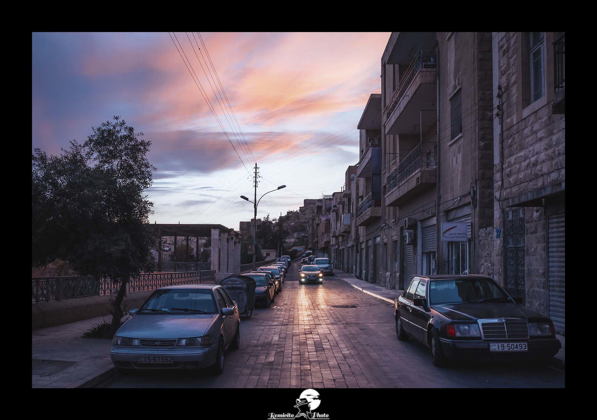 remicito, photoclub paris val-de-bièvre, remicito rémi lacombe, amman jordanie coucher de soleil, belle photo idée cadeau voyage jordanie