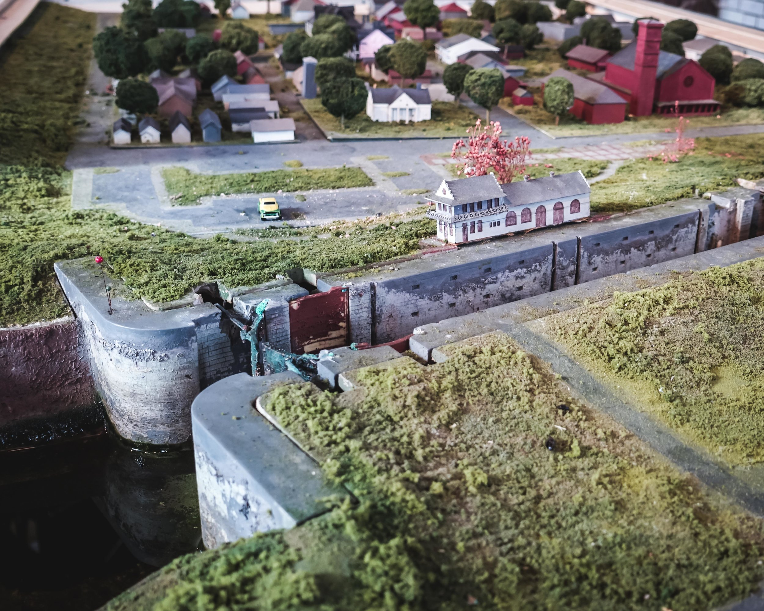 Working Model Of Plaquemine Locks