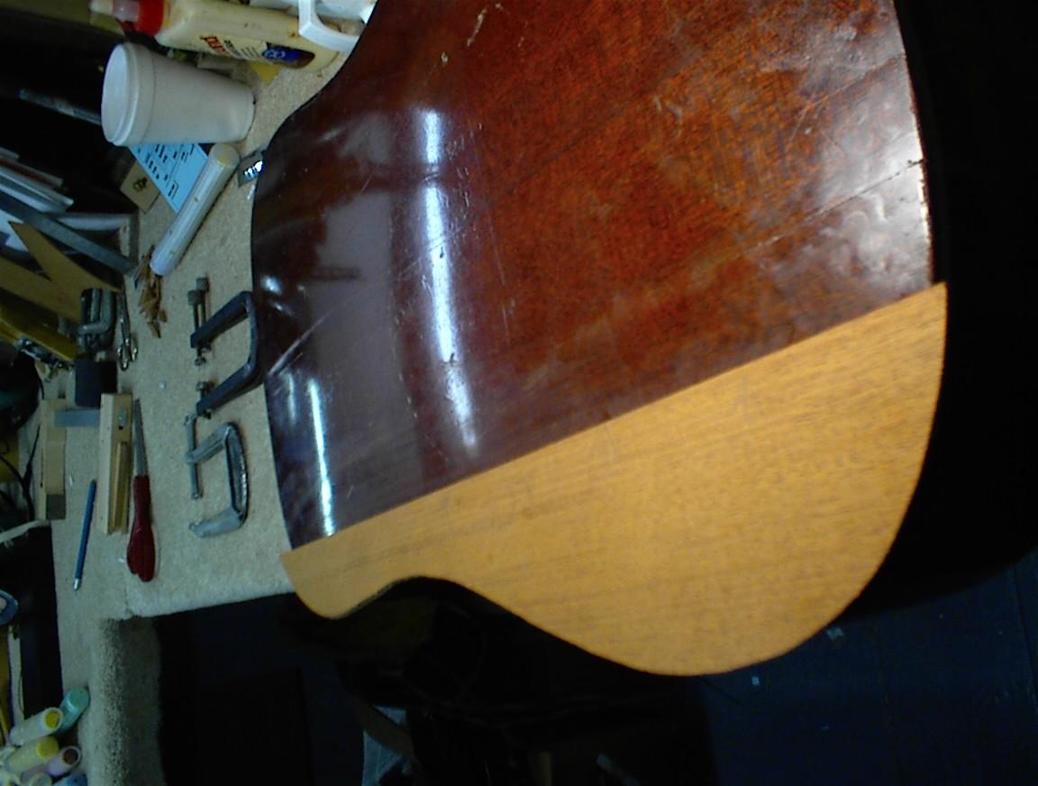 New back wood