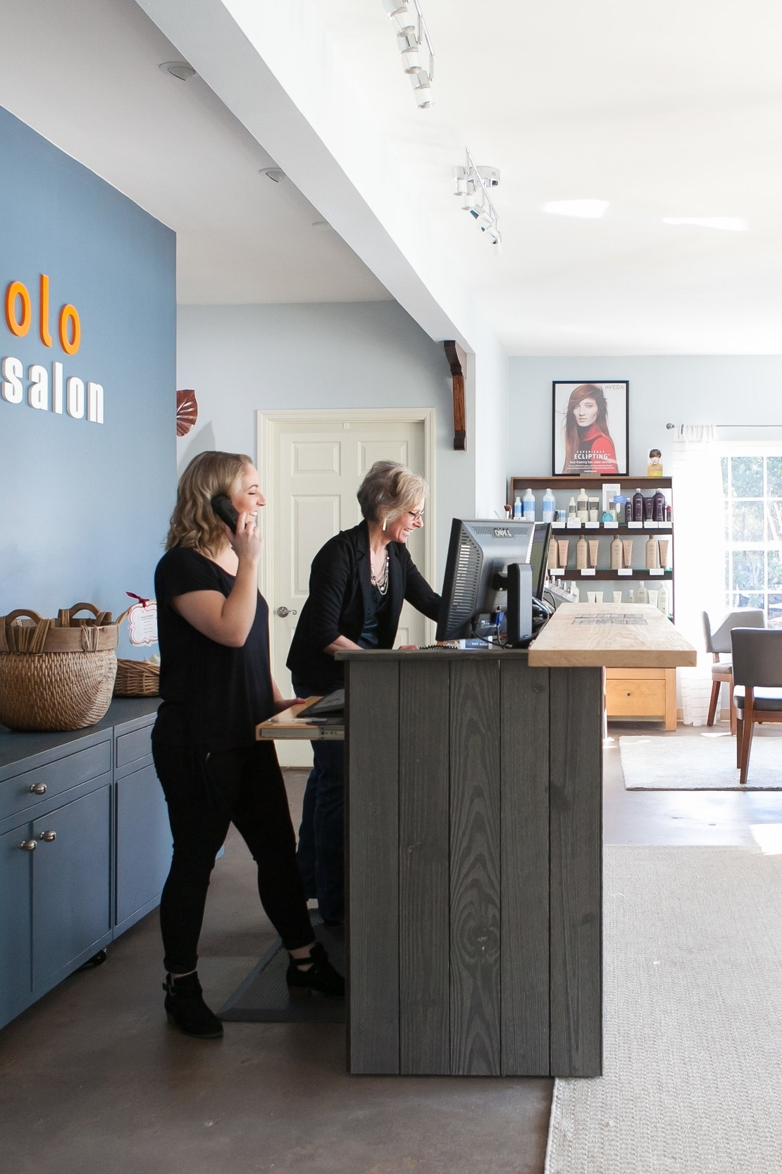 Piccolo Hair Salon is a team-based Aveda salon offering a refreshingly different experience. - Piccolo Hair Salon was founded more than 20 years ago on the philosophy that quality services should be both accessible and enjoyable. As an Aveda concept salon, we have aligned ourselves with an international brand known for quality products and a consistent salon experience. But, we are striving to take it a step further.Every staff member at Piccolo has a common goal of providing exceptional customer service to every client who walks in the door. We do so by acting as a team and helping one another.Our team-based approach offers a lot of flexibility in booking appointments, which is great if you need to get in on short notice. In addition, we are focused on managing time well – eliminating long waits for clients. To enhance your experience, we have a no-tipping policy upon checkout as a referral is our biggest gratuity!Piccolo also offers a service reward program and Aveda's pure privilege℠ reward program.Our clients appreciate our different approach, and we think you will too! We welcome women, men and children.