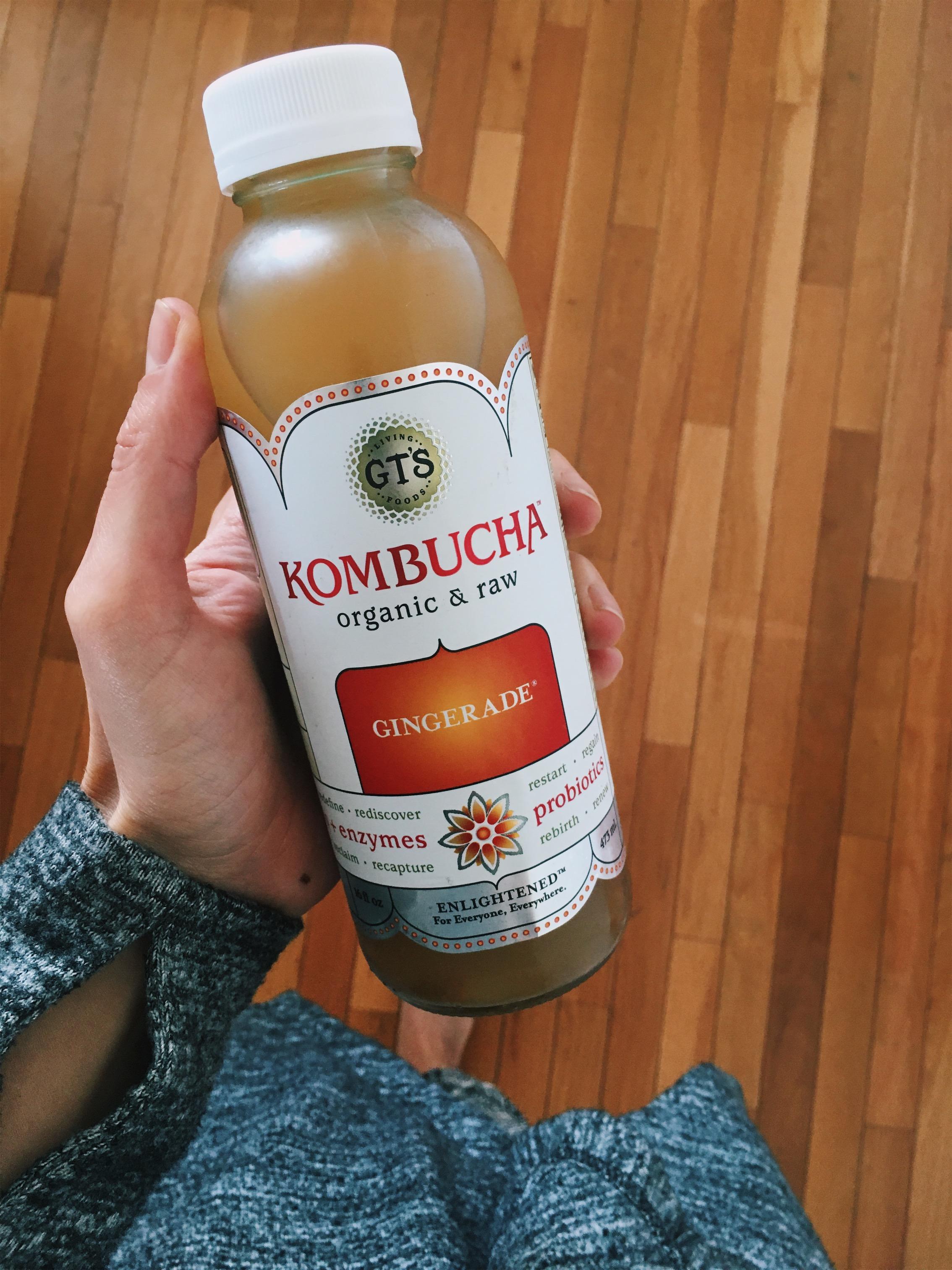3:15 pm - bottle gingerade  kombucha