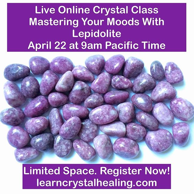Come join us for a live and interactive online crystal class to clear anxiety, depression, irritability, moodiness and thoughts that spin in the mind. This is a great class to help you regain emotional balance, feel uplifted and create a positive mindset. Link in bio to register!  #learncrystalhealing #crystalhealing #empath #crystals #gemstones #gemstonejewellery #crystaljewelry #amethyst #crystalclass #boho #bohostyle #chakra #chakras #chakrastones #healingcrystals #crystalove #healingjewelry #spiritualjewelry #reiki #reikihealing #crystalenergy #crystalhealingclass #crystalclass #crystaloftheday #gypsysoul #gypsy #wicca #wiccan #pagan #energyhealing #healingcrystals #lightworker