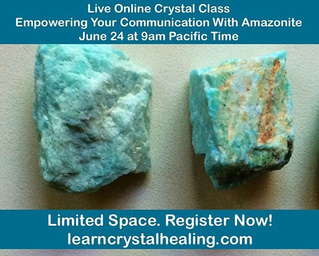 Come join us for a live and interactive online crystal class and learn how to empower your communication abilities. Communication is a key element to daily life, work, education and relationships. Do you freely express your ideas, opinions and feelings with others or do you tend to shy away and not speak up? Sometimes we can even go through cycles where we are outgoing in our self expression and then fall into shyness. When your communication ability is empowered, you can inspire others with your words, bring healing into relationships, give a fabulous presentation, or even land a job interview. Having empowered communication opens up an array of possibilities to manifest what you want through the spoken word. Link in bio to register!  #learncrystalhealing #crystalhealing #empath #crystals #gemstones #gemstonejewellery #crystaljewelry #amethyst #crystalclass #boho #bohostyle #chakra #chakras #chakrastones #healingcrystals #crystalove #healingjewelry #spiritualjewelry #reiki #reikihealing #crystalenergy #crystalhealingclass #crystalclass #crystaloftheday #gypsysoul #gypsy #wicca #wiccan #pagan #energyhealing #healingcrystals #lightworker anxiety, depression, irritability, moodiness and thoughts that spin in the mind. This is a great class to help you regain emotional balance, feel uplifted and create a positive mindset. Link in bio to register!  #learncrystalhealing #crystalhealing #empath #crystals #gemstones #gemstonejewellery #crystaljewelry #amethyst #crystalclass #boho #bohostyle #chakra #chakras #chakrastones #healingcrystals #crystalove #healingjewelry #spiritualjewelry #reiki #reikihealing #crystalenergy #crystalhealingclass #crystalclass #crystaloftheday #gypsysoul #gypsy #wicca #wiccan #pagan #energyhealing #healingcrystals #lightworker