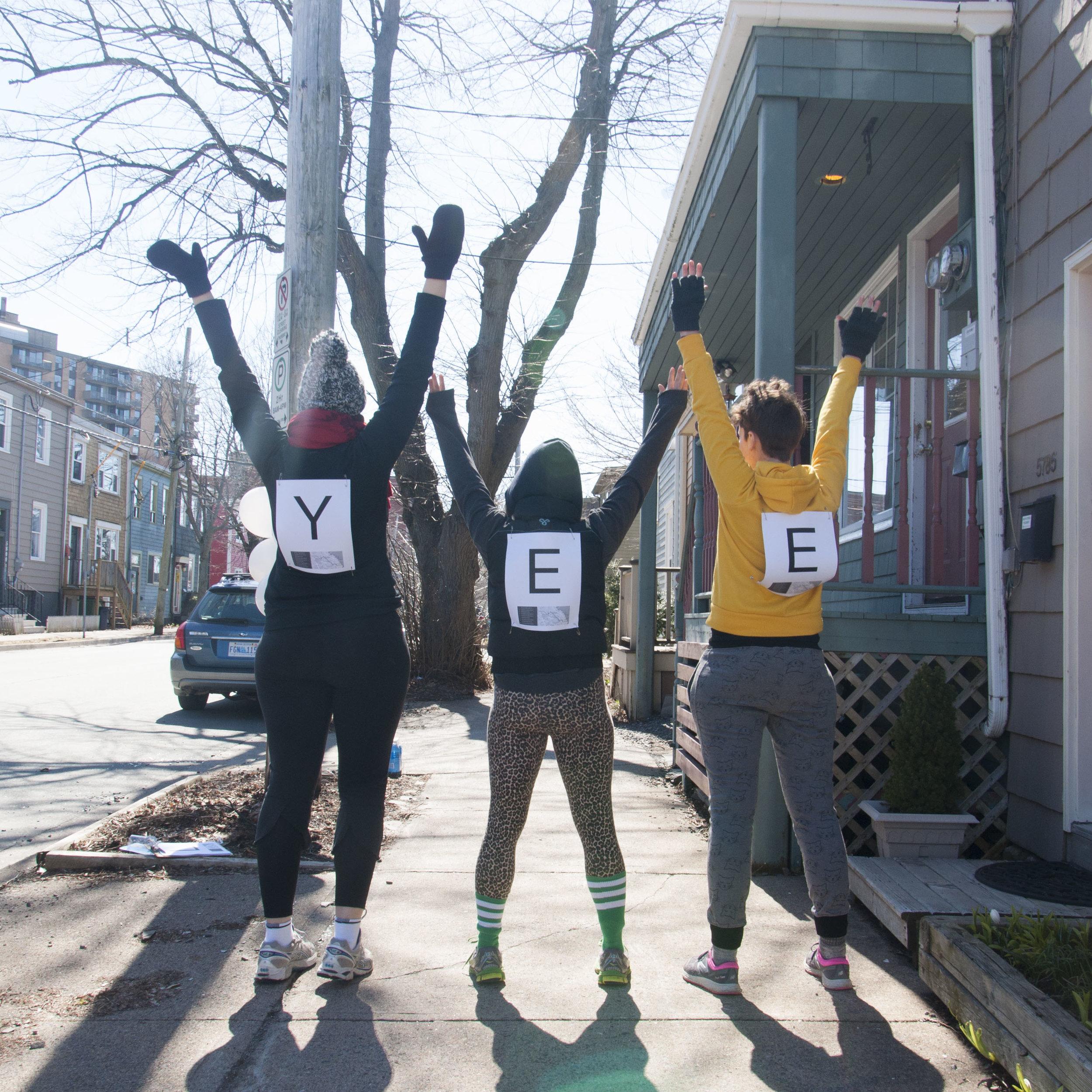 Eyelevel Moving Marathon documentation images courtedy of Ericka Flake