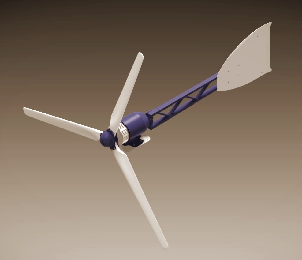 Weaver 5 kW wind turbine. Wind Power. Wind Energy. Wind Turbine.