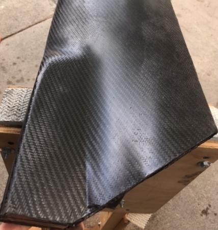 Weaver Wind Energy Carbon Fiber Turbine Blade