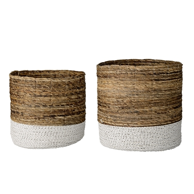 Natural White Baskets