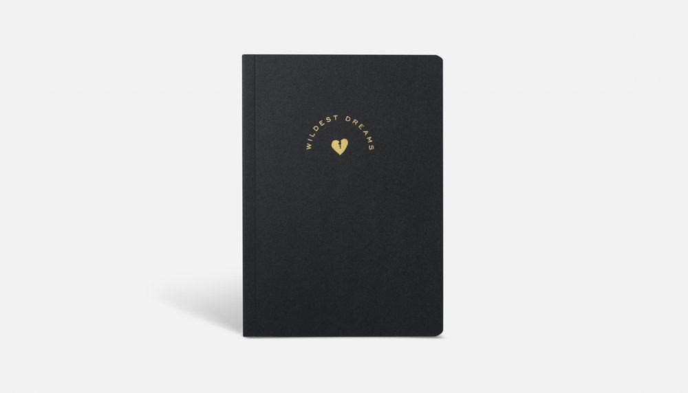 Wildest Dreams Notebook