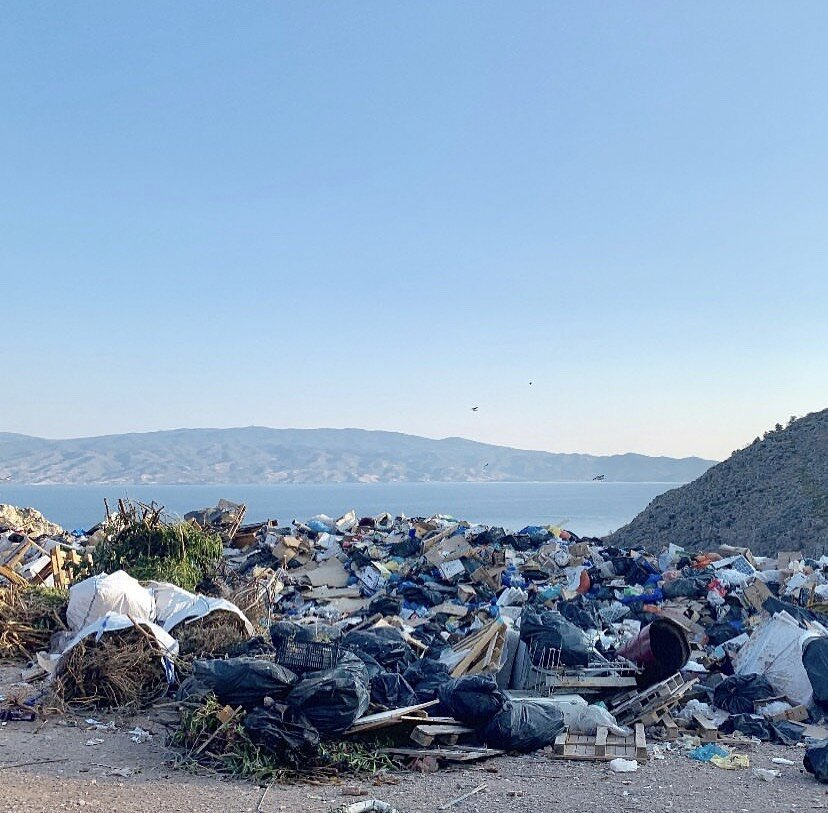 Hydra Landfill aka Leonard Cohen landfill