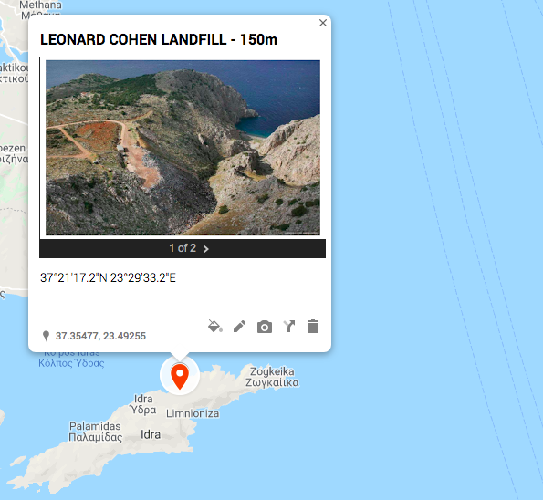 Mapping of Landfill sites - this one is Hydra.