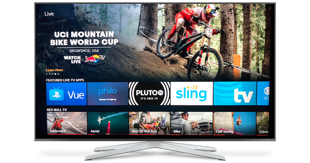 The Amazon Fire TV Live Tab integration being rolled out in the UK and Germany  Over 200,000 customers have discovered the Red Bull TV app through this integration