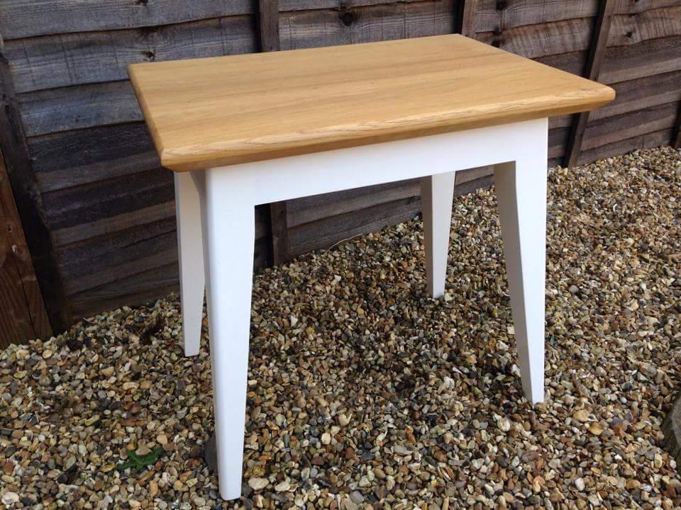 Oak and white coffee table.jpg