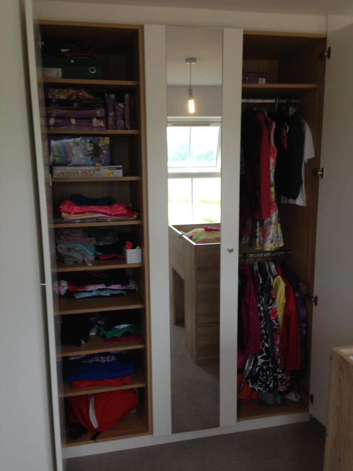 flat panel wardrobe with shelving and double hang.jpg