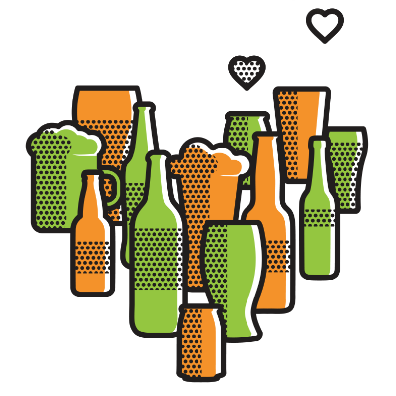 beer personality illustrations