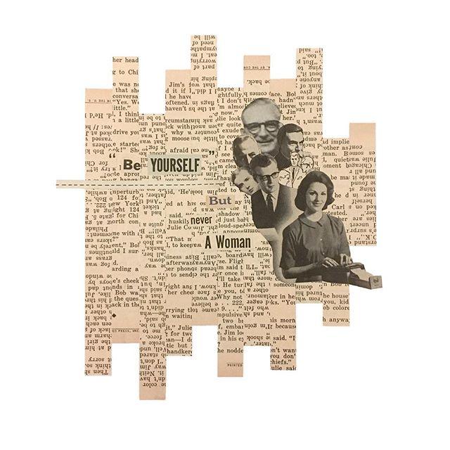Good Houseclipping 01-15, Performance Evaluation . . . #goodhouseclipping #collage #collageart #photocollage #cutandpaste #art #illustration #analogcollage #collageartist #design #creative #vintage #contemporaryart #readingbetweenthelines